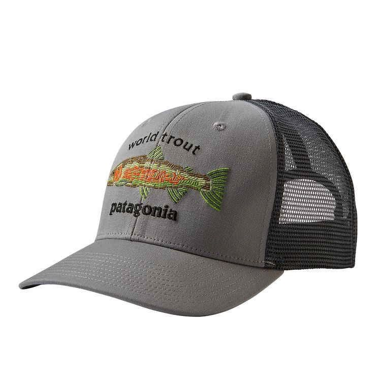 Patagonia Patagonia World Trout Fishstitch Trucker Hat