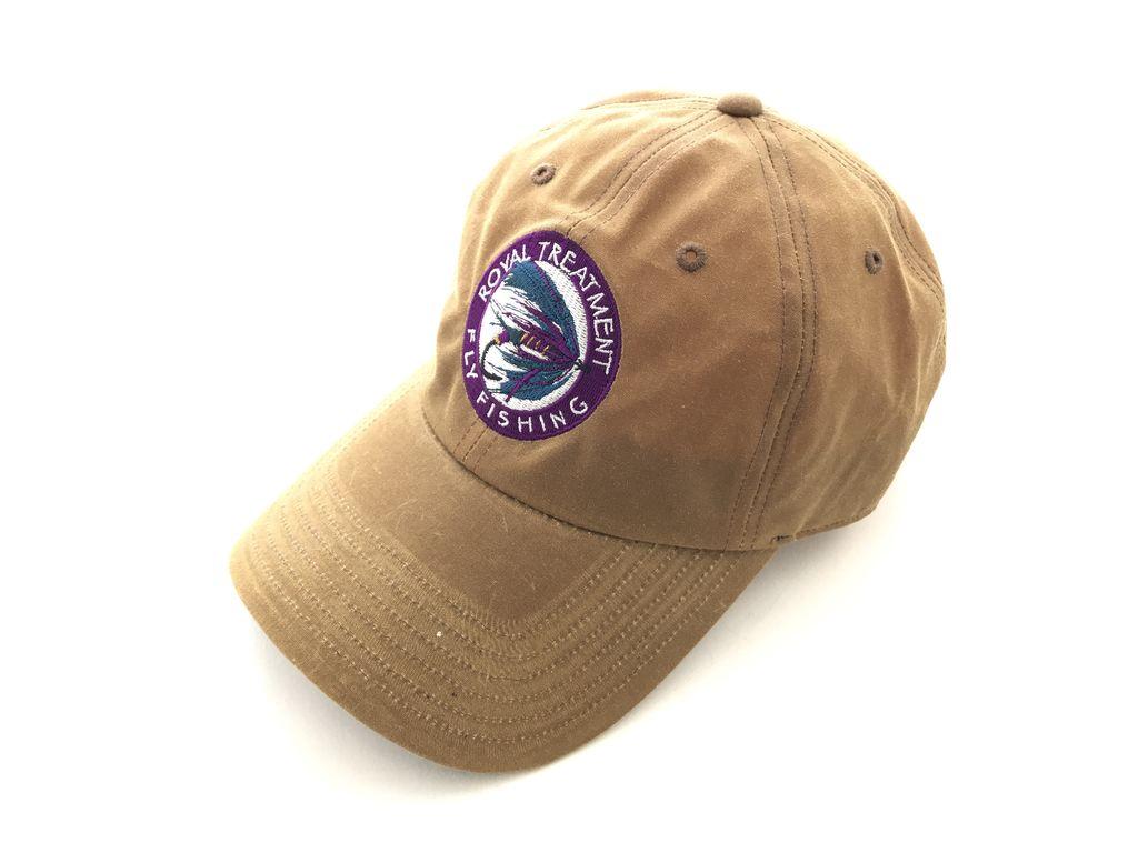 Royal Treatment RTFF Logo Cascadia Waxed Cotton Cap, Dark Elkhorn