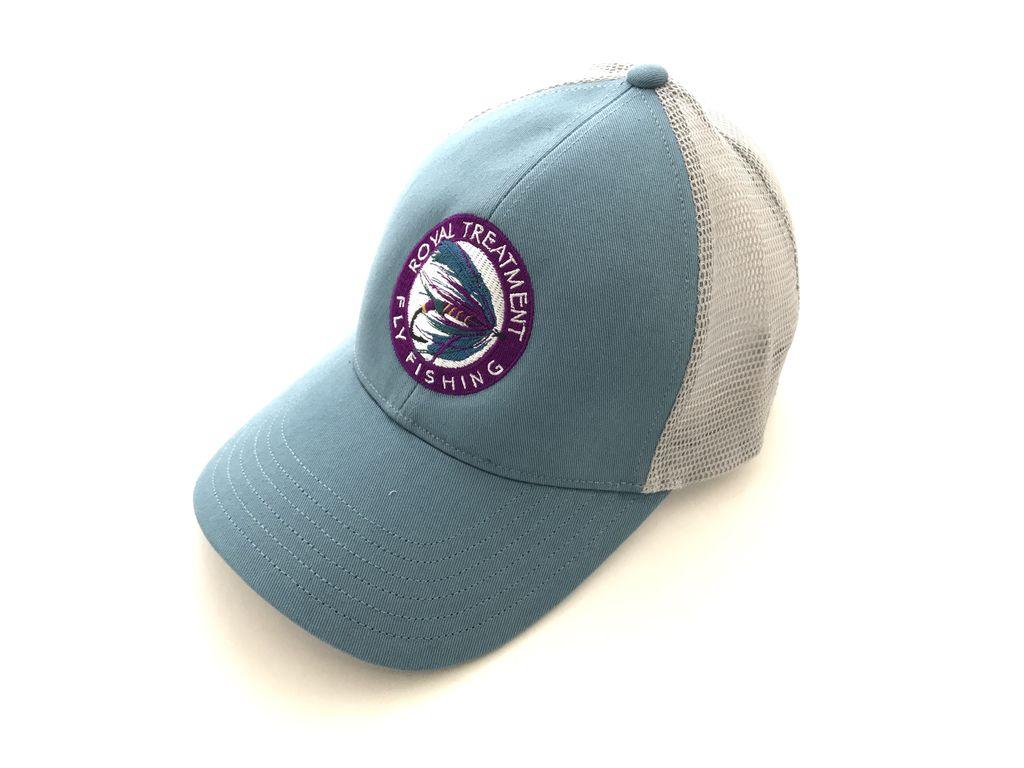 Royal Treatment RTFF Logo RTFF Logo Trucker Cap, Blue Stream
