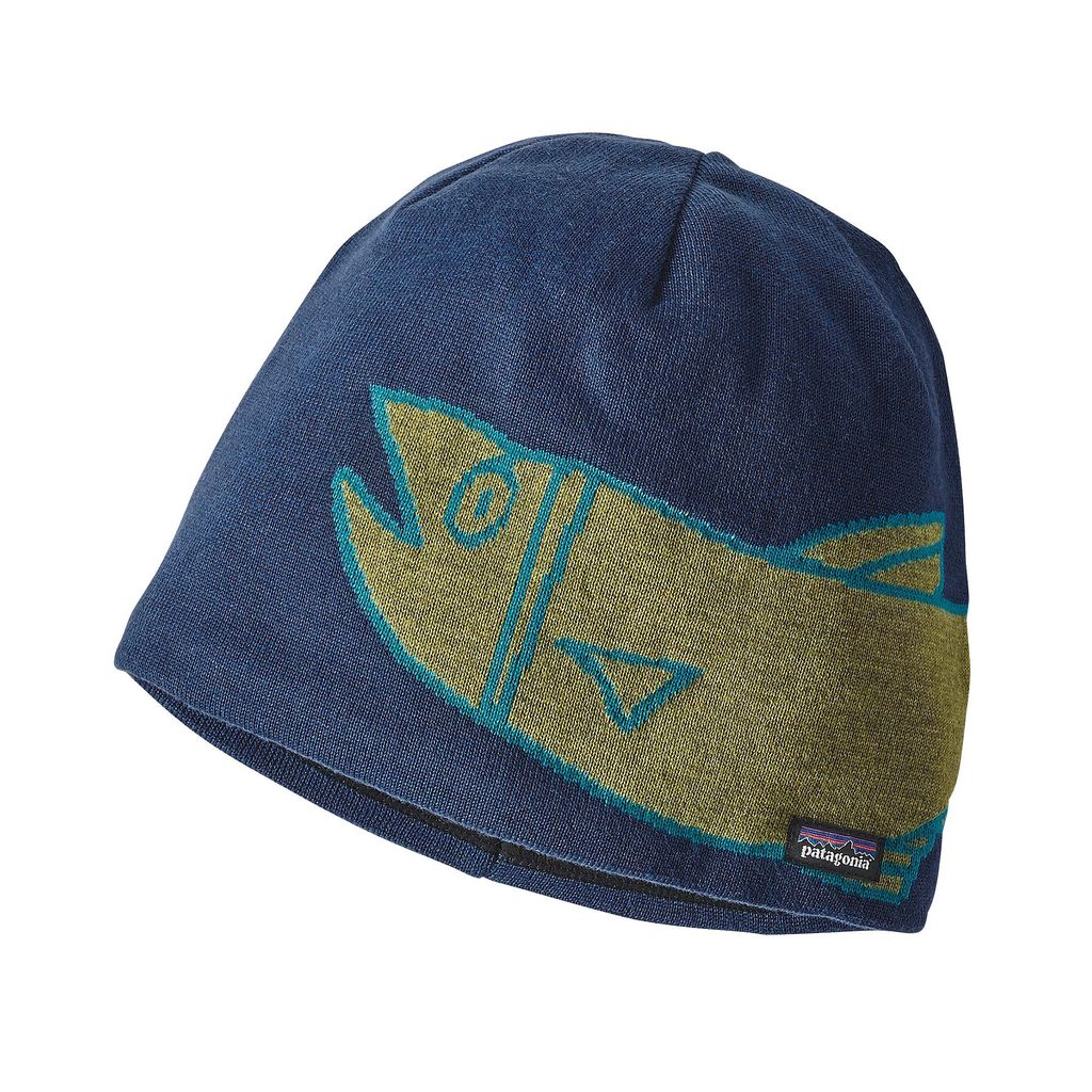 Patagonia Patagonia Lined Beanie, River Mouth, Glass Blue