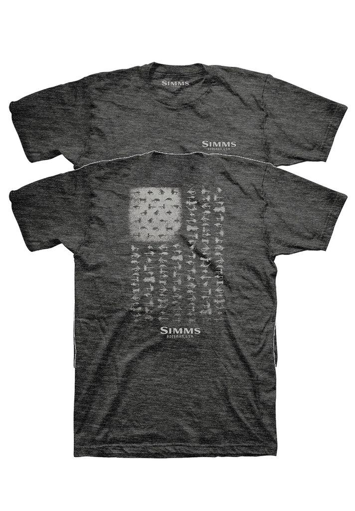 Simms Simms USA FLIES T-Shirt