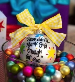 Ornament How Can I Thank God Ornament