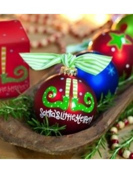 Ornament Santa's Little Helper Ornament