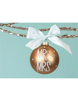 Ornament Mr. & Mrs. Glass Ornament