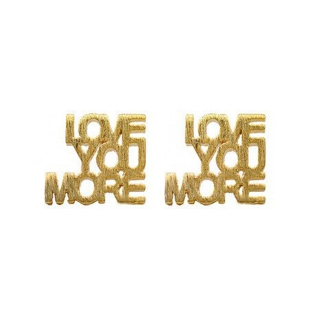 Earrings Montpellier Love You More Earrings By Moon and Lola