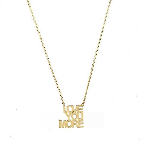 Necklace Montpellier Love You More Necklace by Moon and Lola