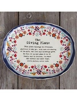 Platter Artisan Giving Plate