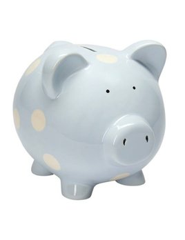 Bank Classic Piggy Bank - Pastel Blue