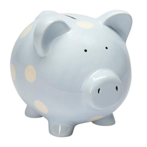 Bank Classic Piggy Bank - Pastel Blue