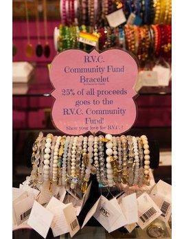Bracelet Chavez for Charity Bracelet - Rockville Centre Community Fund