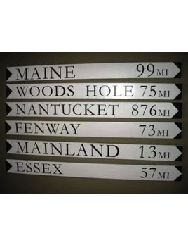Sign Custom Destination Sign