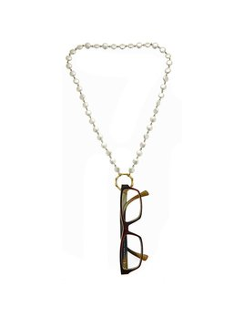 Misc Blanche Eyeglasses Catcher/Necklace - Coin Pearl