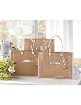 Tote Ask Bridesmaid Bag-Personalized