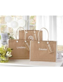 Tote Personalizeed Ask Bridesmaid Bag