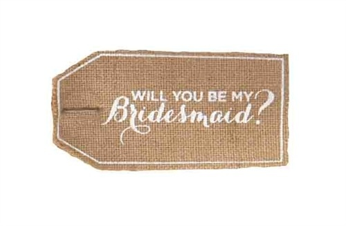 Tote Ask Bridesmaid Bag-Personalized