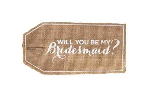 Tote Personalizeed Ask Bridesmaid Bag