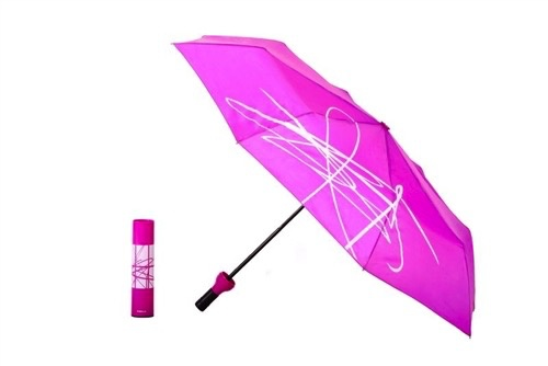 Umbrella Wine Bottle Artistic Umbrella - Purple