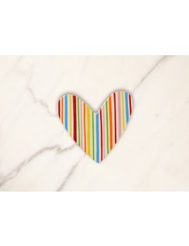 Attachment Striped Heart Mini Attachment