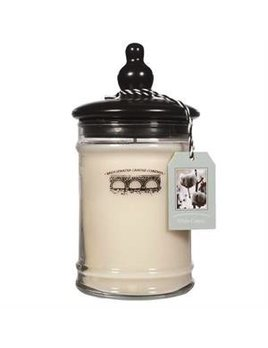 Personalized 18oz Large Jar Candle - White Cotton
