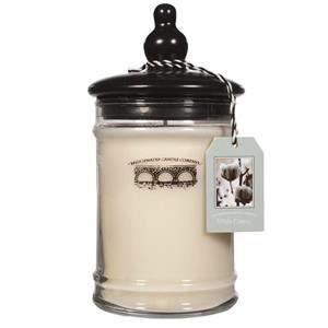 Personalized 18oz Large Jar Candle - White Cotton