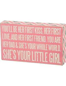 Sign Box Sign - Little Girl
