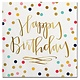 Happy Birthday Beverage Napkins - 20ct