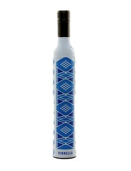 Umbrella Wine Bottle Umbrella - Blue Aztec