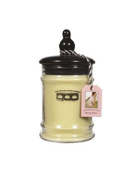 Personalized 8oz Small Jar Candle - Spring Dress