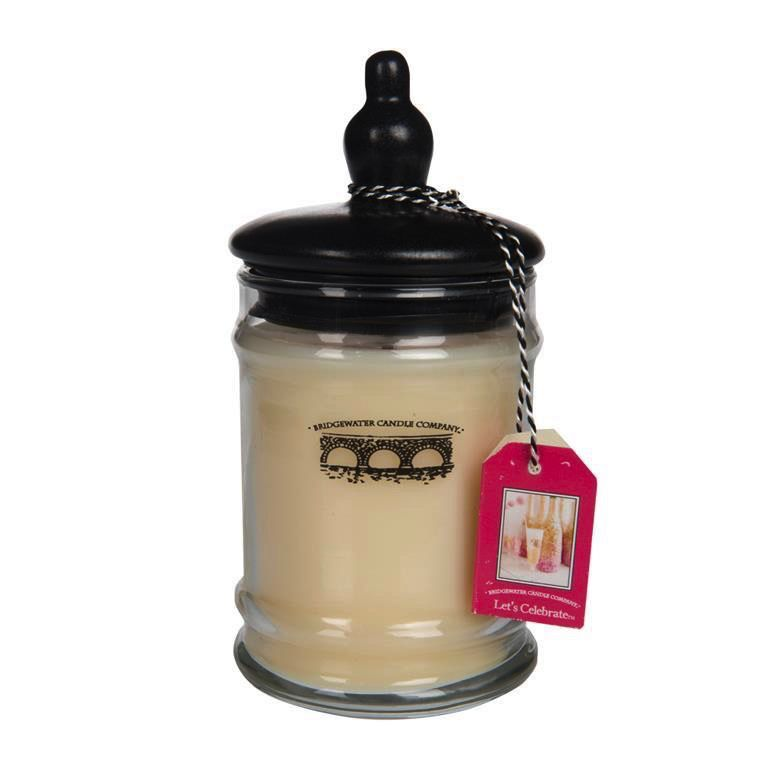 Personalized 8oz Small Jar Candle - Let's Celebrate