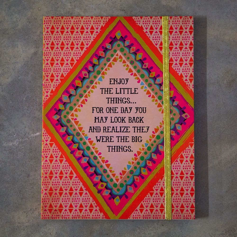 Enjoy the Little Things Journal by Natural Life