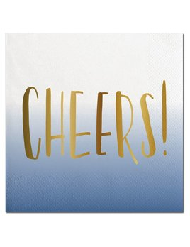 Napkin 20ct Napkin - Ombre Cheers!