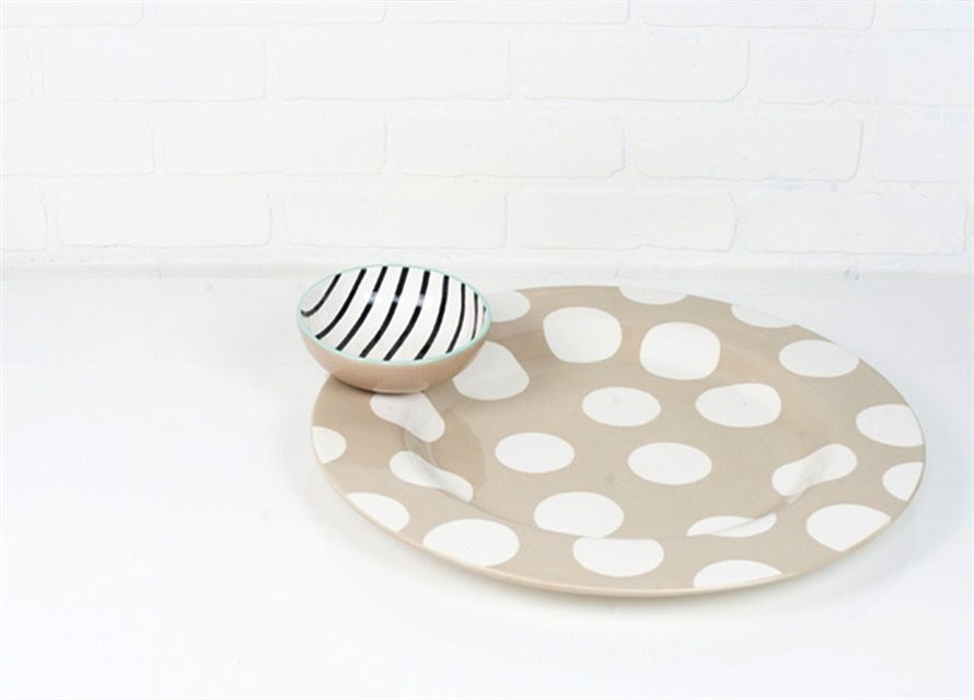 Attachment Black and White Stripe Bowl Big Attachment