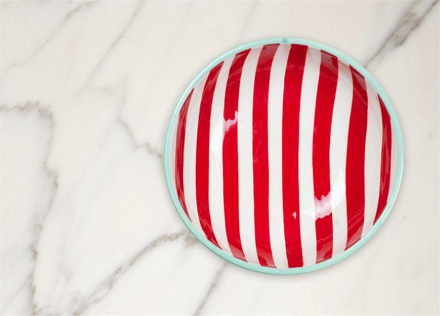 Attachment Red Stripe Bowl Big Attachment