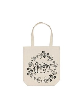 Tote Flowergirl Canvas Tote