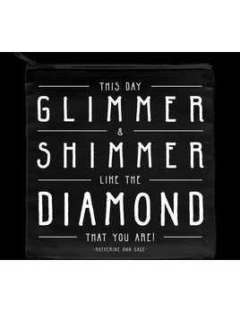 Makeup Case Glimmer & Shimmer Quotable Make-Up Case