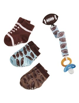 Football Socks and Pacy Clip Set