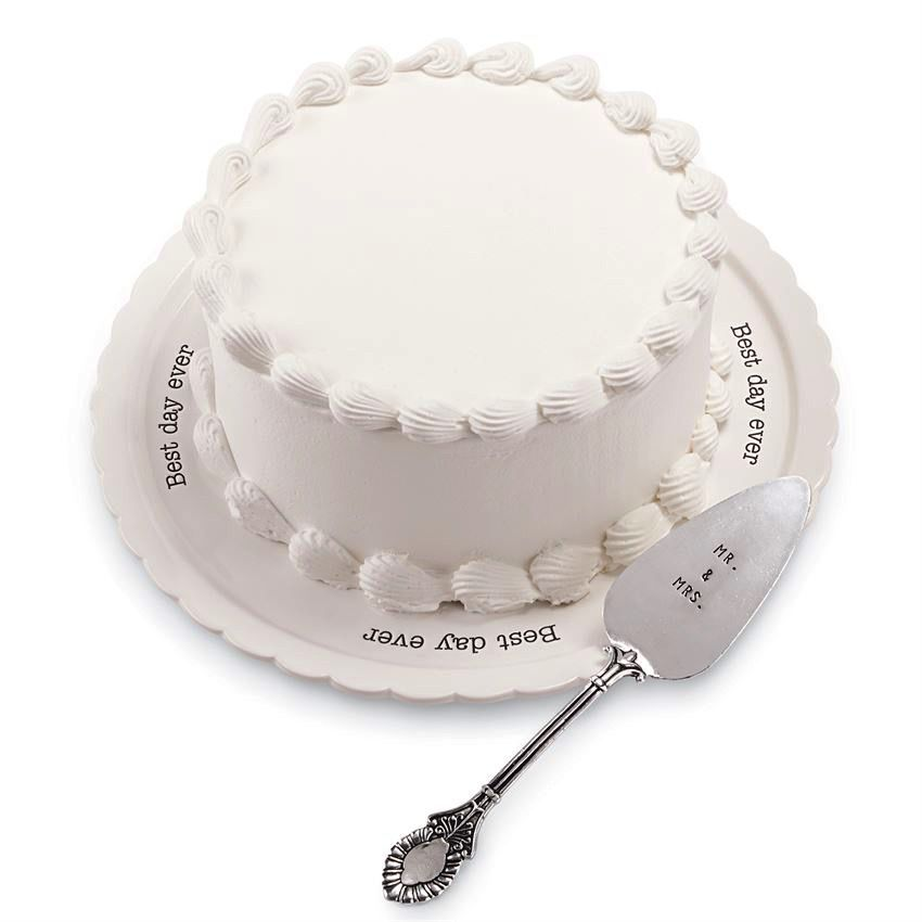 Best Day Ever Cake Plate Set