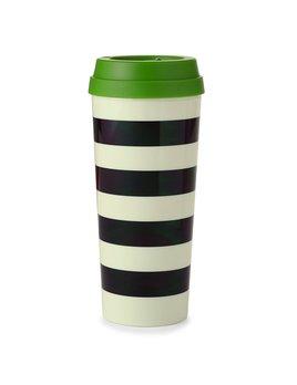 Mug Kate Spade New York Thermal Mug - Black Stripe