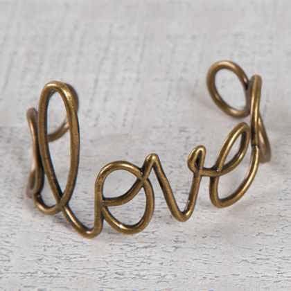 Bracelet Wire Love Cuff by Natural Life