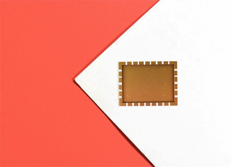 Attachment Metallic Gold Frame Mini Attachment