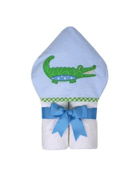 Towel Blue Alligator Everykid Towel