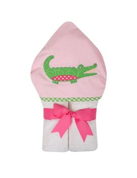 Towel Pink Alligator Everykid Towel