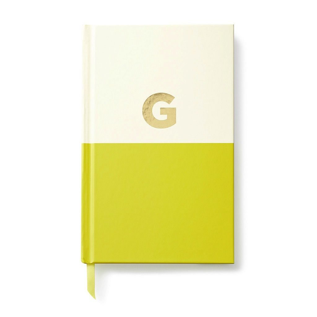 Kate Spade New York Dipped Initial Notebook - G