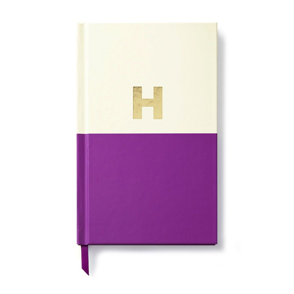 Kate Spade New York Dipped Initial Notebook - H