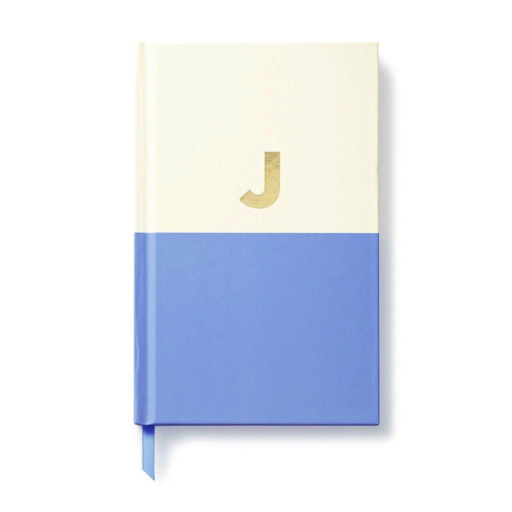 Kate Spade New York Dipped Initial Notebook - J