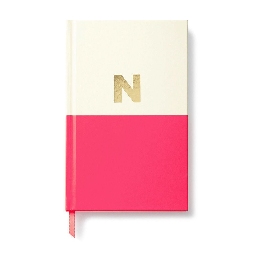 Kate Spade New York Dipped Initial Notebook - N