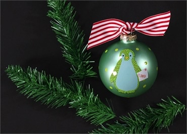 Christmas Critters Penguin Class Ornament