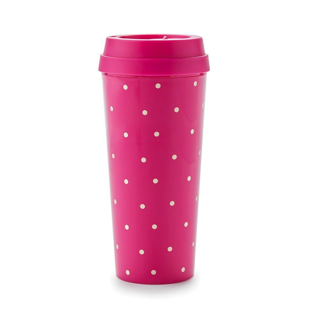 Kate Spade New York Thermal Mug - Pink Larabee Dot