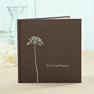 Book In Loving Memory Book