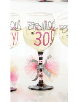 Wine Glass Fabulous At 30 Wine Glass